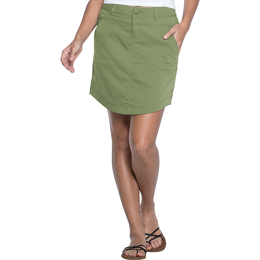 Toad & Co Metrolite Skirt 6 - Juniper - Toad & Co Womens Apparel - Apparel & Footwear, Women's Apparel