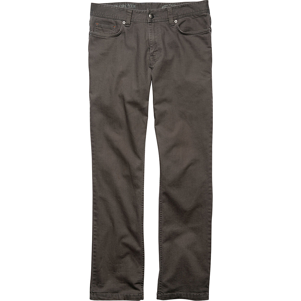 Toad & Co Drover Denim Pant 31 - 34in - Smoke - Toad & Co Mens Apparel - Apparel & Footwear, Men's Apparel