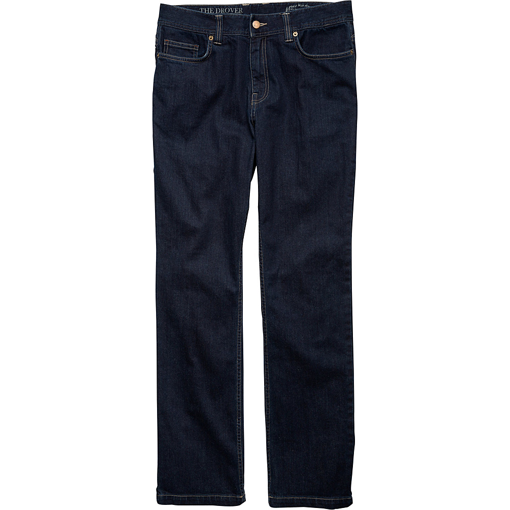 Toad & Co Drover Denim Pant 31 - 34in - Dark Denim - Toad & Co Mens Apparel - Apparel & Footwear, Men's Apparel