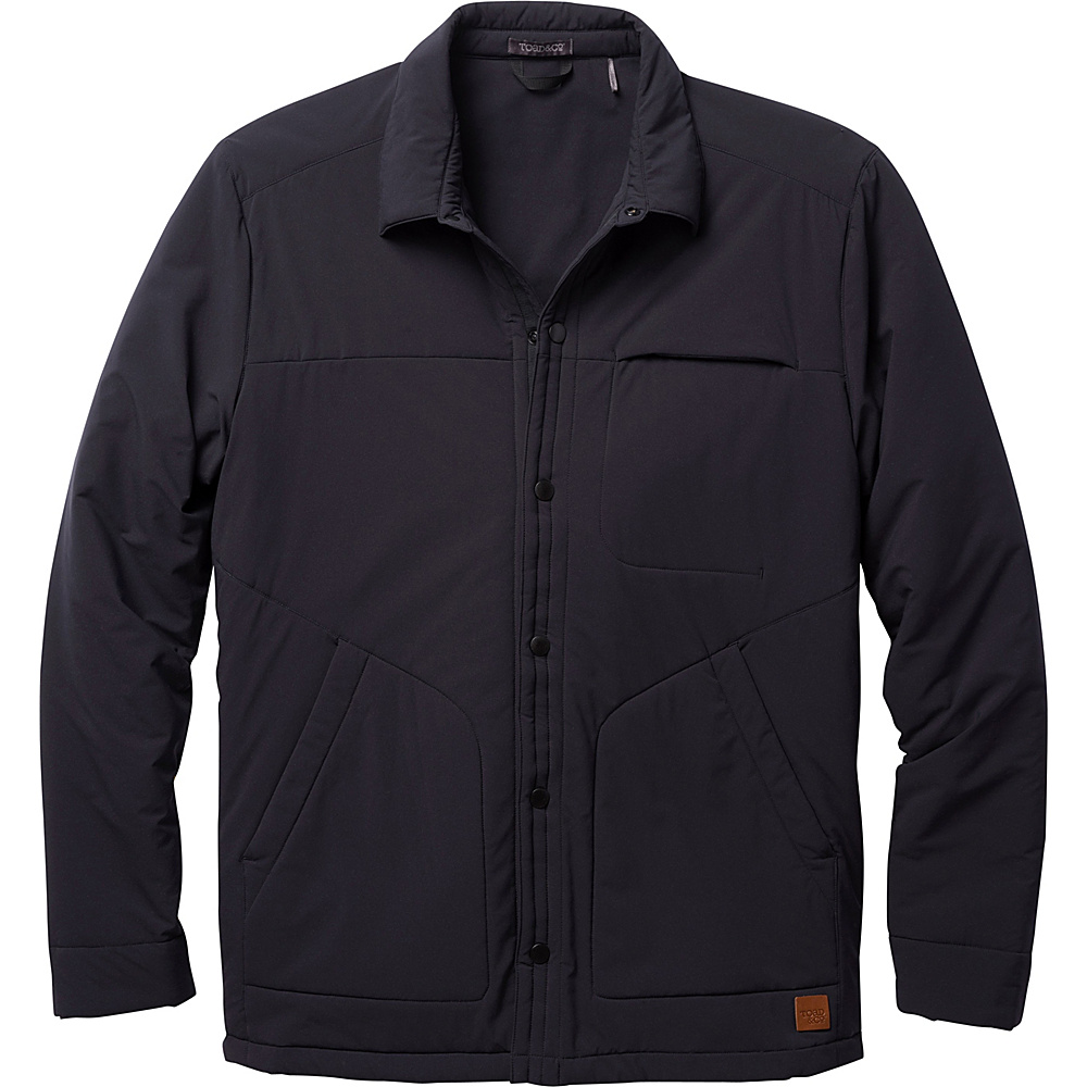 Toad & Co Aerium Stretch Shirtjac M - Black - Toad & Co Mens Apparel - Apparel & Footwear, Men's Apparel