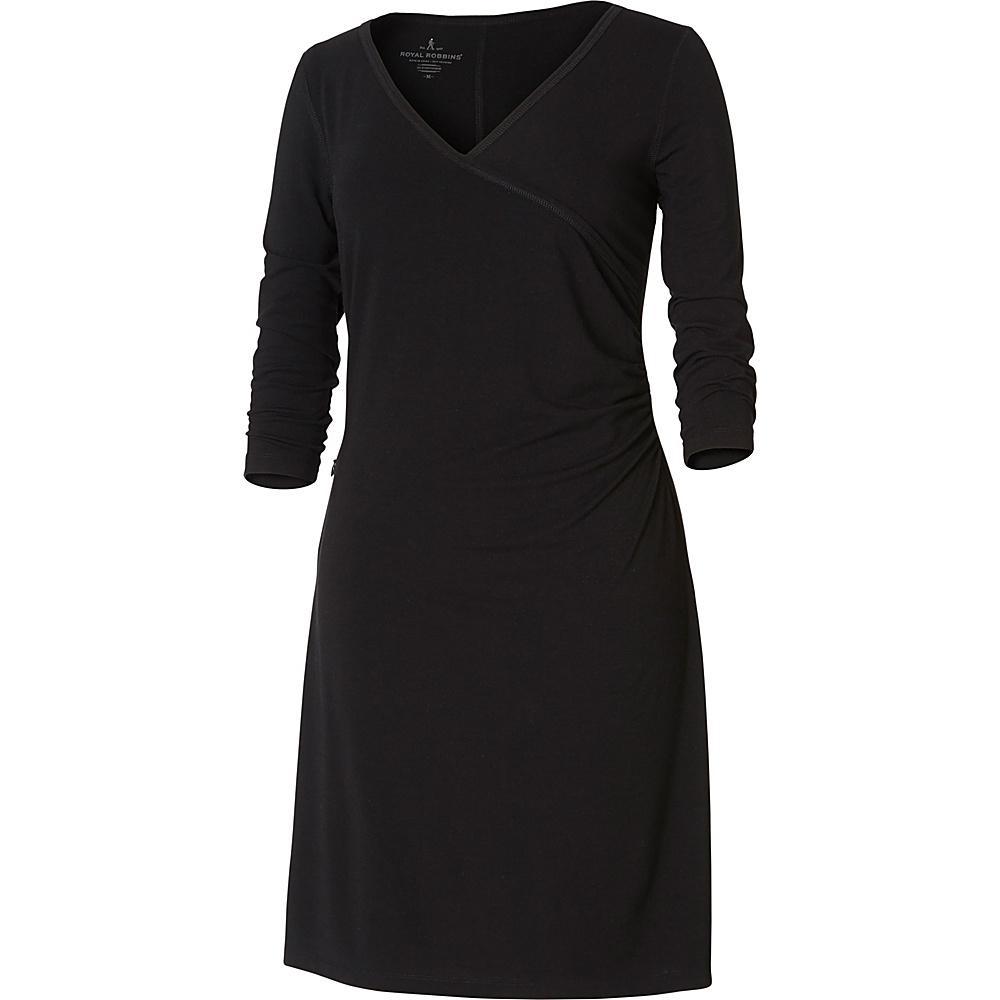 Royal Robbins Womens Essential Tencel Monroe Dress XS - Jet Black - Royal Robbins Womens Apparel - Apparel & Footwear, Women's Apparel