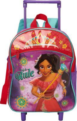 Disney Elena Toddler Rolling Backpack Purple - Disney Wheeled Backpacks