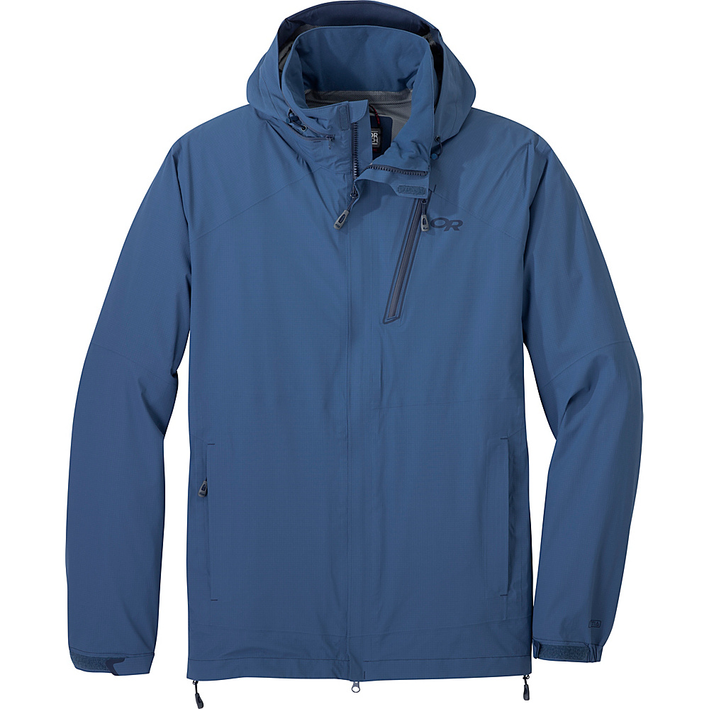 Outdoor Research Mens Valley Jacket L - Dusk - Outdoor Research Mens Apparel - Apparel & Footwear, Men's Apparel