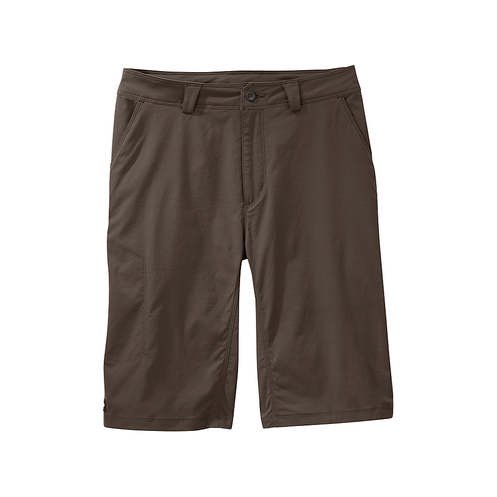 Outdoor Research Mens Equinox Metro Shorts 30 - Mushroom - Outdoor Research Mens Apparel - Apparel & Footwear, Men's Apparel
