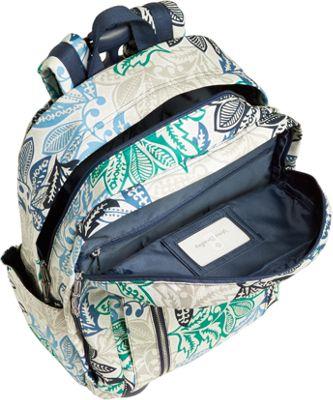 Vera Bradley Rolling Backpack Ditsy Dot - Vera Bradley Rolling Backpacks