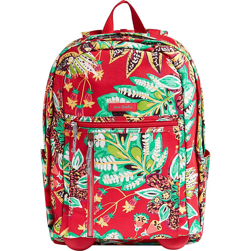 Vera Bradley Rolling Backpack Rumba - Vera Bradley Rolling Backpacks - Backpacks, Rolling Backpacks