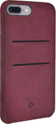 Twelve South Relaxed Leather Case with Pockets for iPhone 7 Plus Marsala - Twelve South Electronic Cases