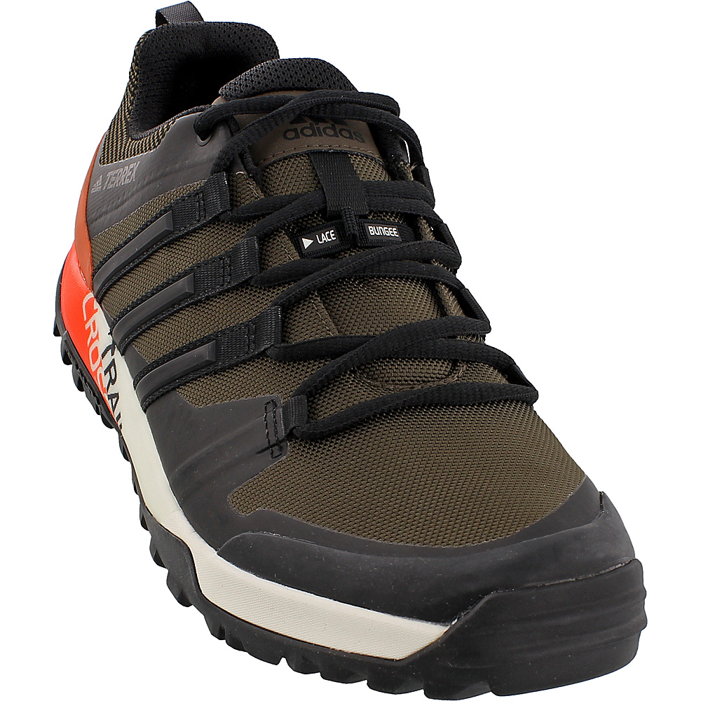 adidas outdoor Mens Terrex Trail Cross Sl Shoe 6.5 - Umber/Black/Energy - adidas outdoor Mens Footwear - Apparel & Footwear, Men's Footwear