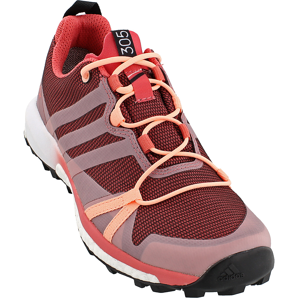 adidas outdoor Womens Terrex Agravic GTX Shoe 5.5 - Tactile Pink/Haze Coral/White - adidas outdoor Womens Footwear - Apparel & Footwear, Women's Footwear