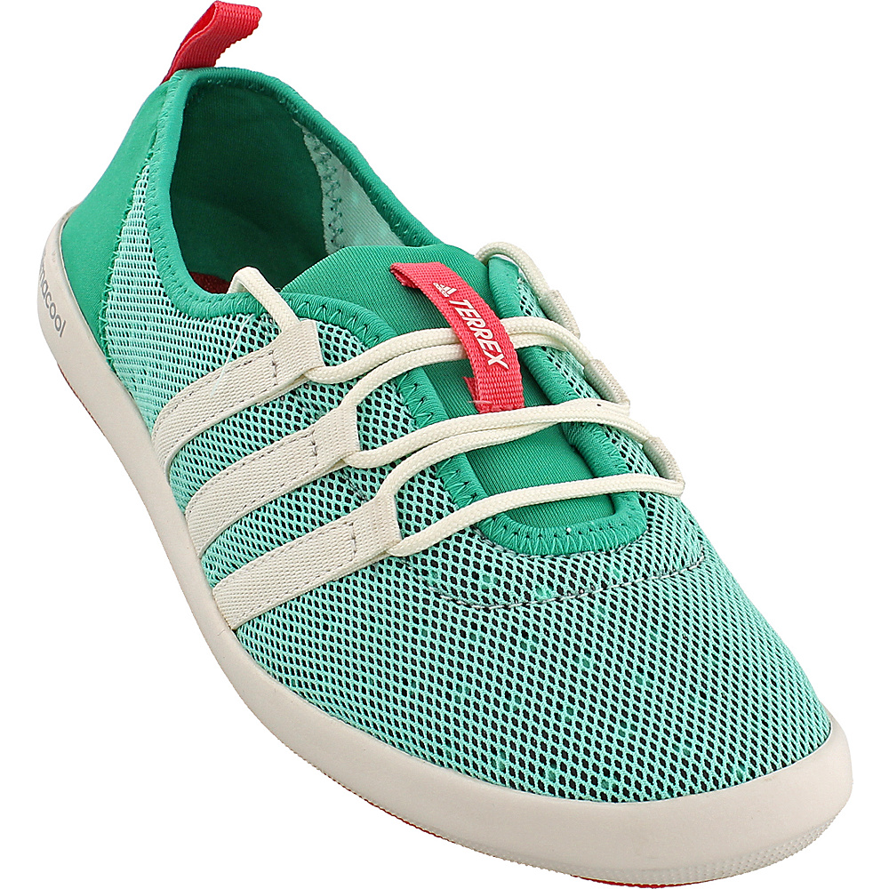 adidas outdoor Womens Terrex Climacool Boat Sleek Shoe 6 - Core Green/Chalk White/Tactile Pink - adidas outdoor Womens Footwear - Apparel & Footwear, Women's Footwear