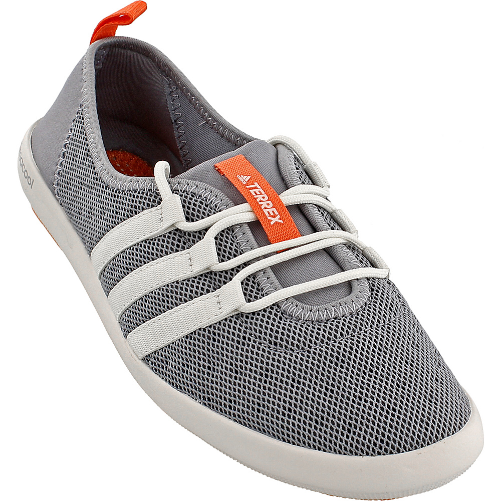 adidas outdoor Womens Terrex Climacool Boat Sleek Shoe 12 - Mid Grey/Chalk White/Easy Orange - adidas outdoor Womens Footwear - Apparel & Footwear, Women's Footwear
