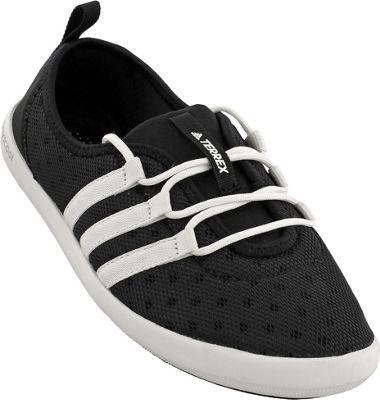 adidas outdoor Womens Terrex Climacool Boat Sleek Shoe 7 - Black/Chalk White/Matte Silver - adidas outdoor Women's Footwear