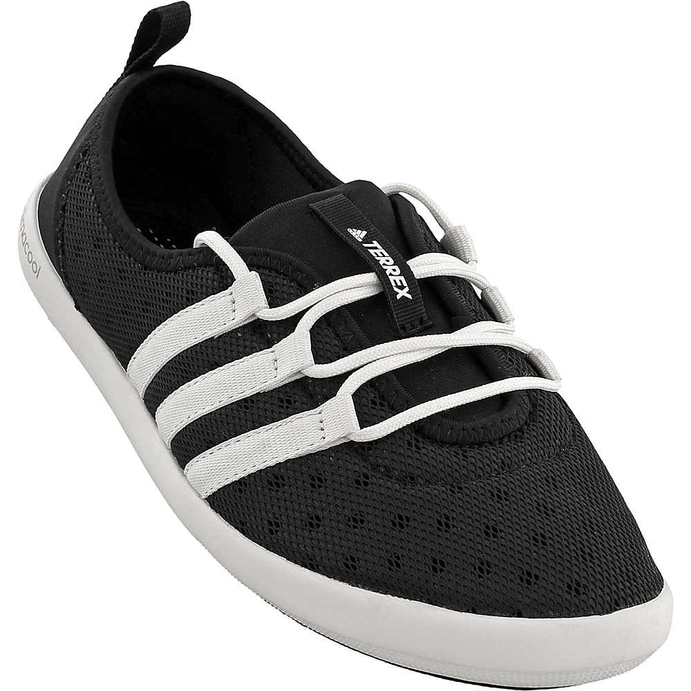 adidas outdoor Womens Terrex Climacool Boat Sleek Shoe 7 - Black/Chalk White/Matte Silver - adidas outdoor Womens Footwear - Apparel & Footwear, Women's Footwear