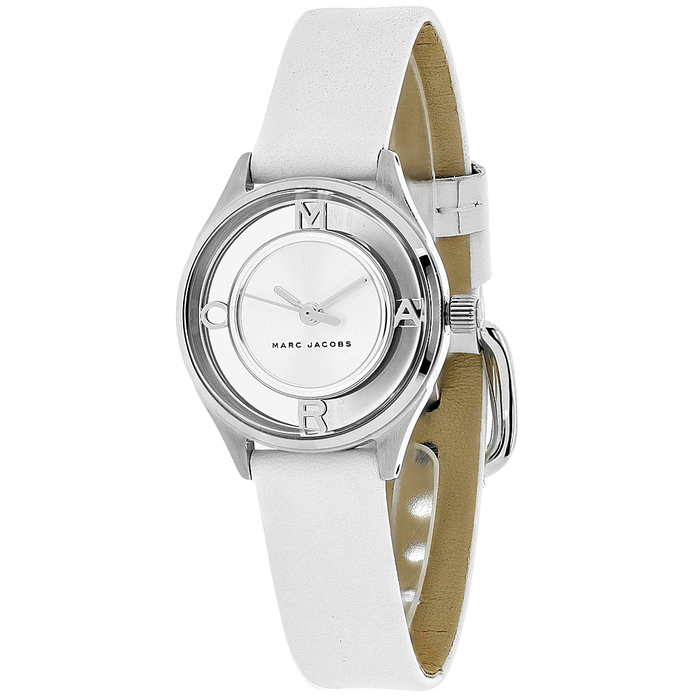 Marc Jacobs Watches Women's Tether Watch Silver - Marc Jacobs Watches Watches