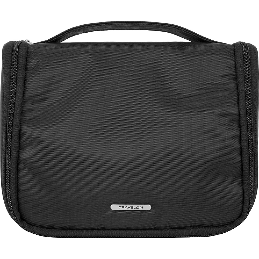 Travelon Essential Hanging Toiletry Kit Black - Travelon Toiletry Kits - Travel Accessories, Toiletry Kits