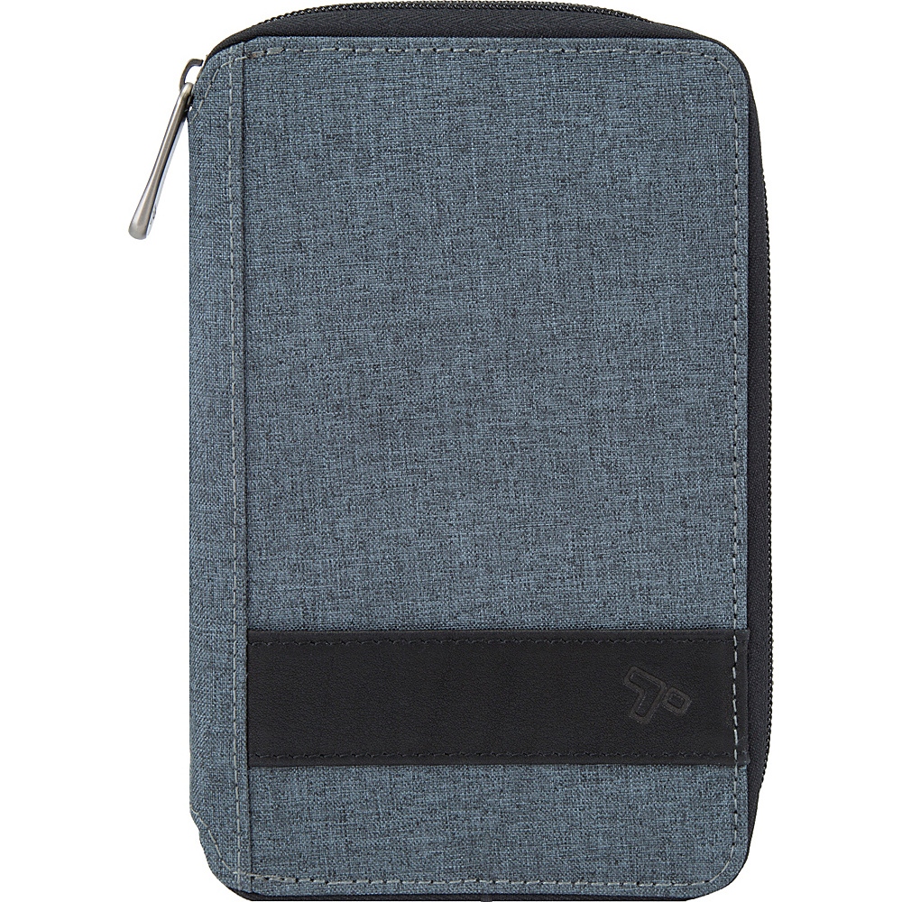 Travelon RFID Blocking Multi-Passport Holder Slate - Travelon Travel Wallets - Travel Accessories, Travel Wallets