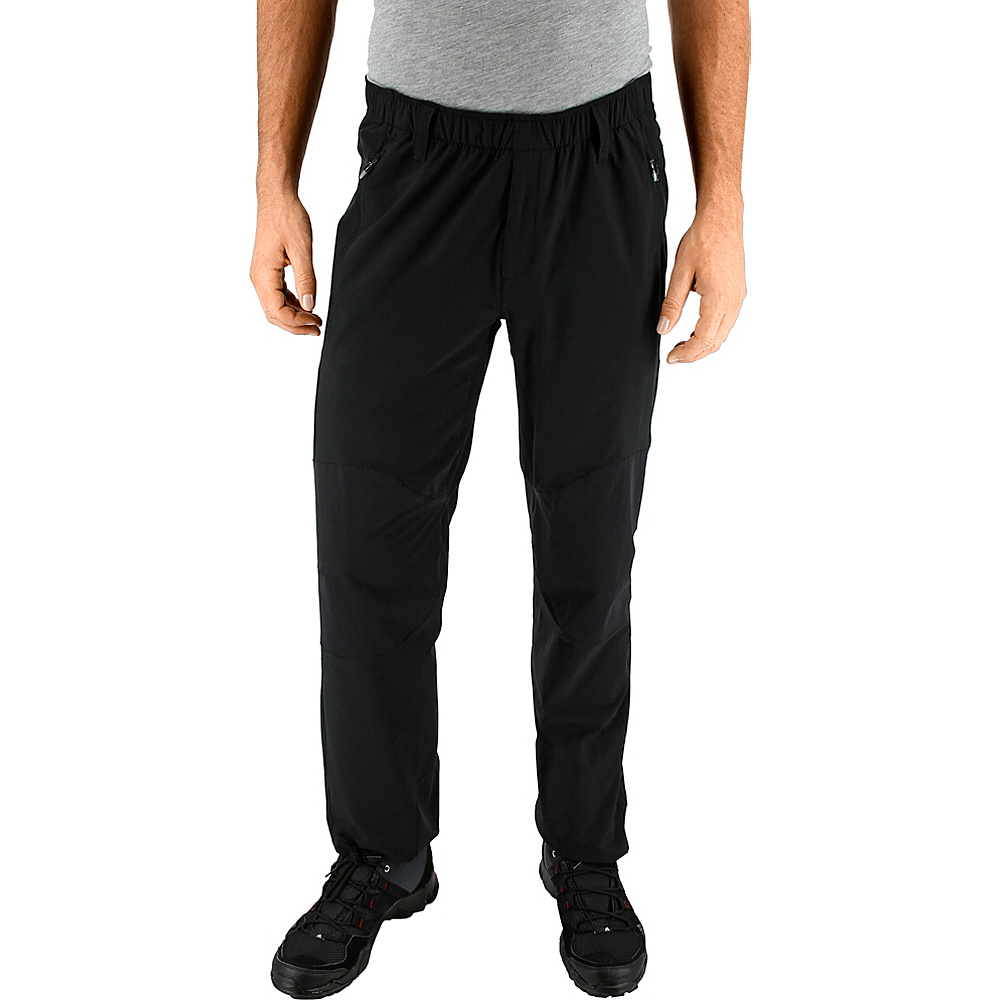 adidas outdoor Mens Lite Flex Pant 34 - Black - adidas outdoor Mens Apparel - Apparel & Footwear, Men's Apparel