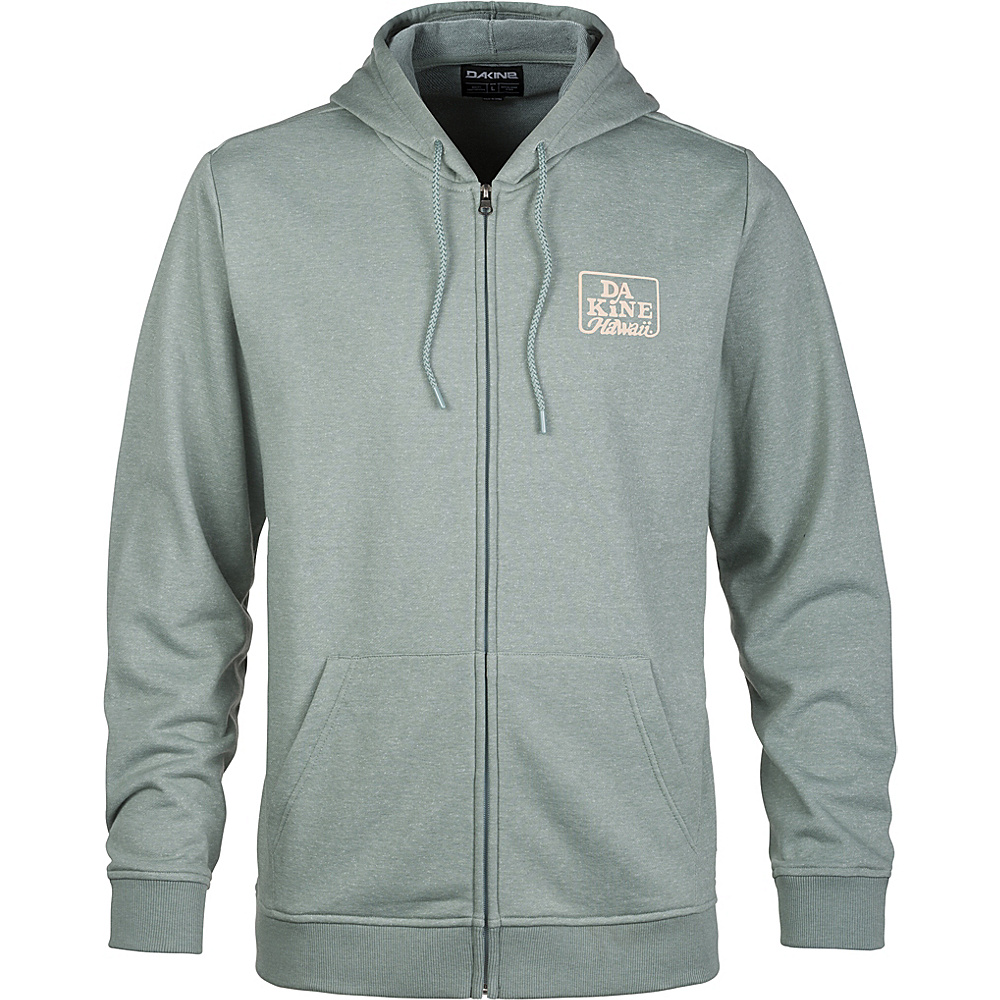 DAKINE Mens Classic Hooded Fleece XL - Coastal Green - DAKINE Mens Apparel - Apparel & Footwear, Men's Apparel