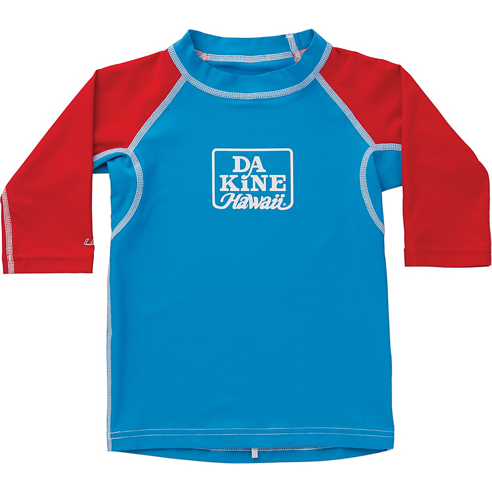 DAKINE Toddler Boys Snug Fit Long Sleeve 2T - Blue - DAKINE Womens Apparel - Apparel & Footwear, Women's Apparel