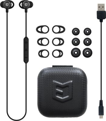 ELWN Secure-Fit Wireless Bluetooth Sport Earbuds with Mic Black - ELWN Headphones & Speakers