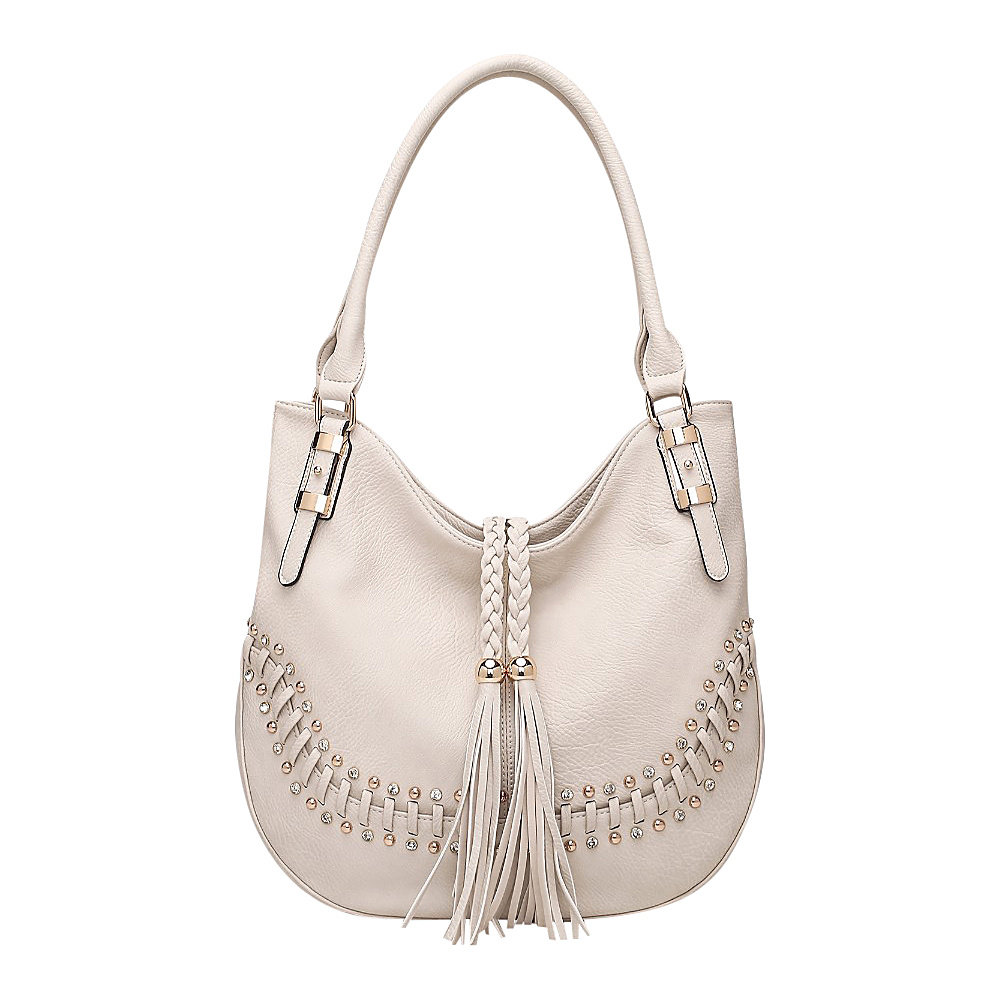 MKF Collection by Mia K. Farrow Iva Hobo Apricot - MKF Collection by Mia K. Farrow Manmade Handbags - Handbags, Manmade Handbags
