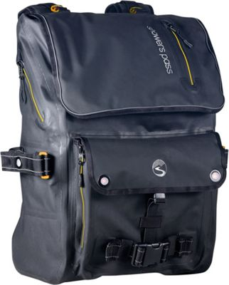 Showers Pass Transit Waterproof Backpack Gold/Black - Showers Pass Laptop Backpacks