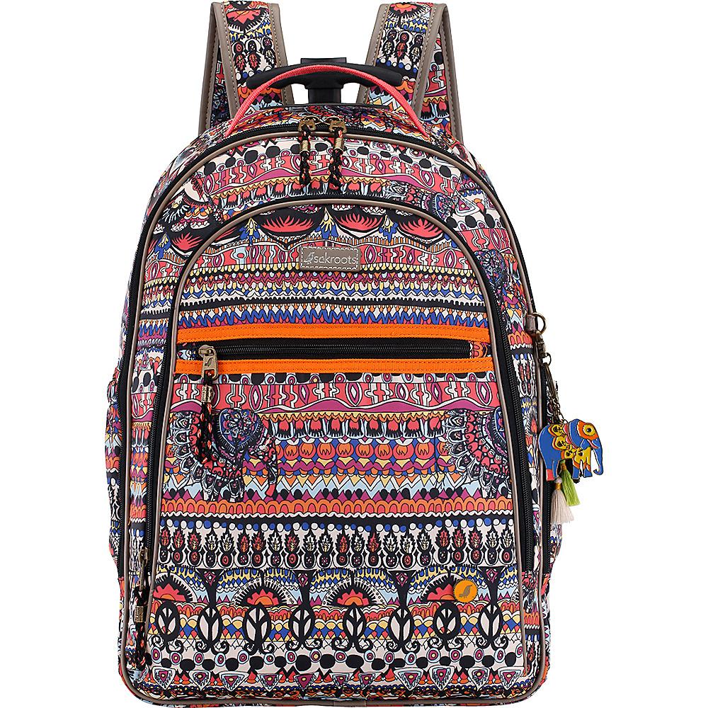 Sakroots York Rolling Backpack Camel One World - Sakroots Wheeled Backpacks - Backpacks, Wheeled Backpacks