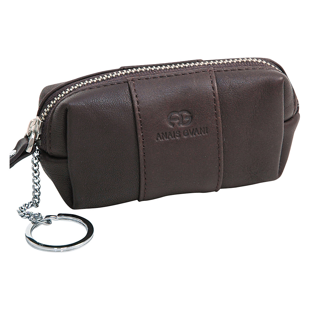 Dasein Multifunctional Pouch with Inside Attached Key Chain Coffee Brown - Dasein Womens Wallets - Women's SLG, Women's Wallets