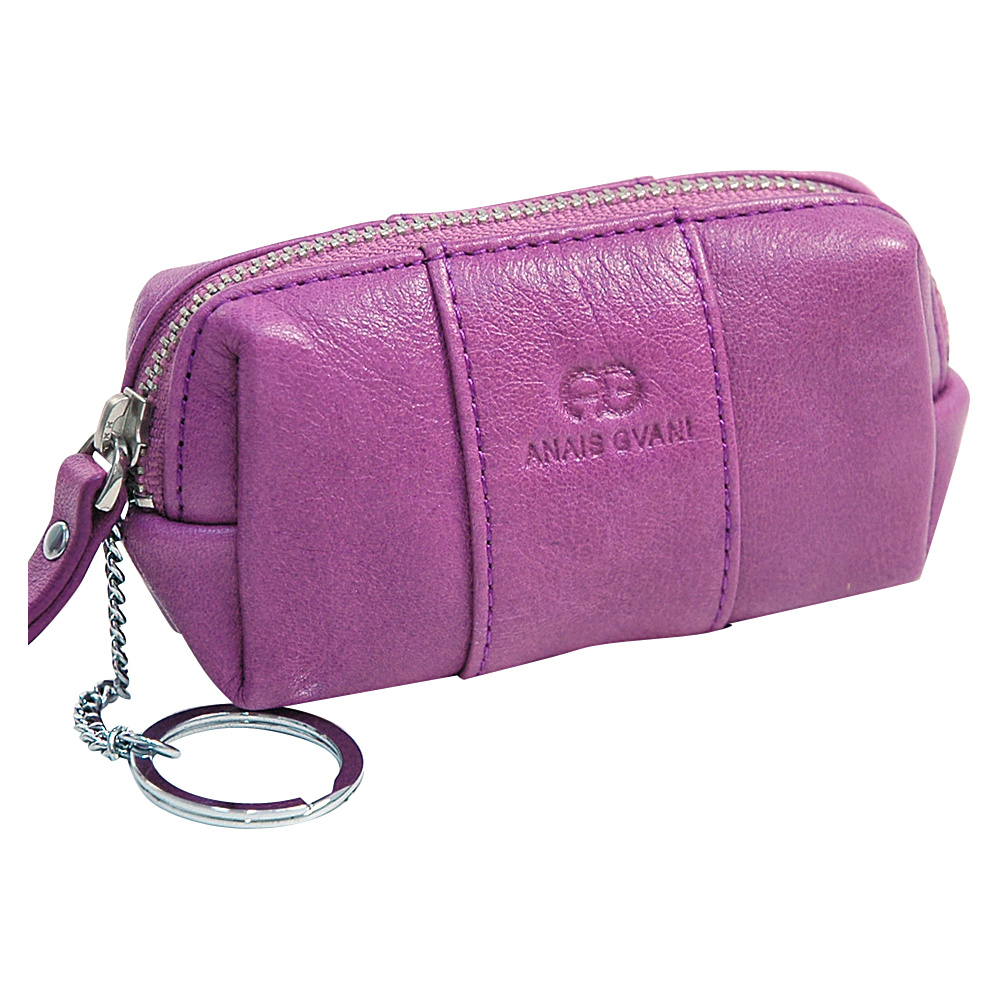 Dasein Multifunctional Pouch with Inside Attached Key Chain Purple - Dasein Womens Wallets - Women's SLG, Women's Wallets