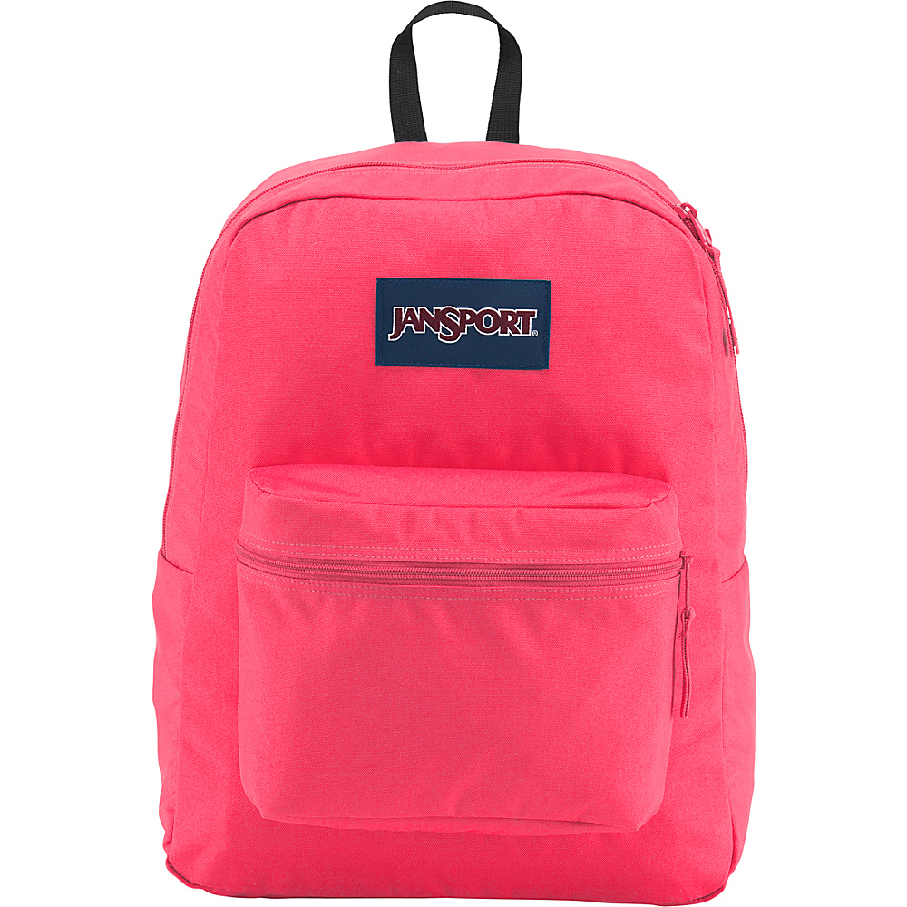 JanSport Exposed Backpack Neon Pink - JanSport School & Day Hiking Backpacks