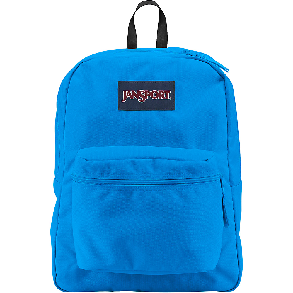 JanSport Exposed Backpack Neon Blues - JanSport School & Day Hiking Backpacks