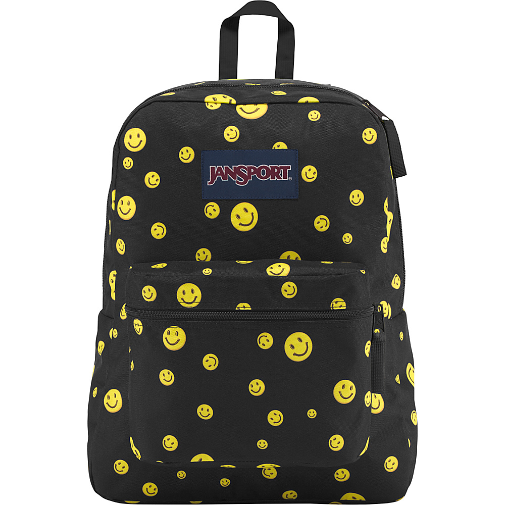 JanSport Exposed Backpack Miles of Smiles - JanSport School & Day Hiking Backpacks