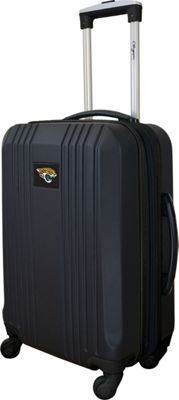 Mojo Licensing 21 inch Carry-On Hardcase 2-Tone Spinner Jacksonville Jaguars - Mojo Licensing Hardside Carry-On