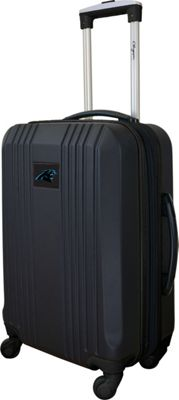 Mojo Licensing Mojo Licensing 21 inch Carry-On Hardcase 2-Tone Spinner Carolina Panthers - Mojo Licensing Hardside Carry-On