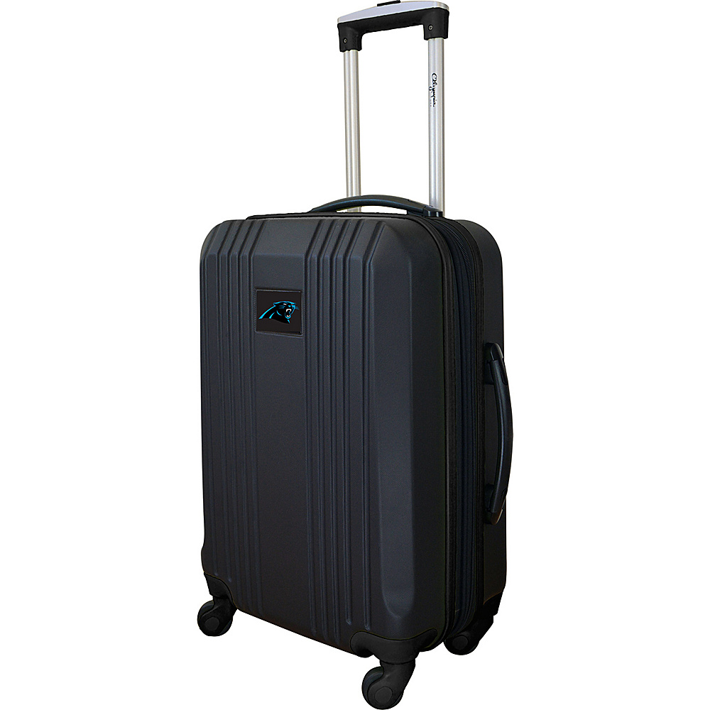 MOJO Denco 21 Carry-On Hardcase 2-Tone Spinner Carolina Panthers - MOJO Denco Hardside Carry-On - Luggage, Hardside Carry-On