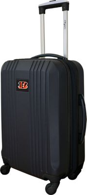 Mojo Licensing 21 inch Carry-On Hardcase 2-Tone Spinner Cincinnati Bengals - Mojo Licensing Hardside Carry-On