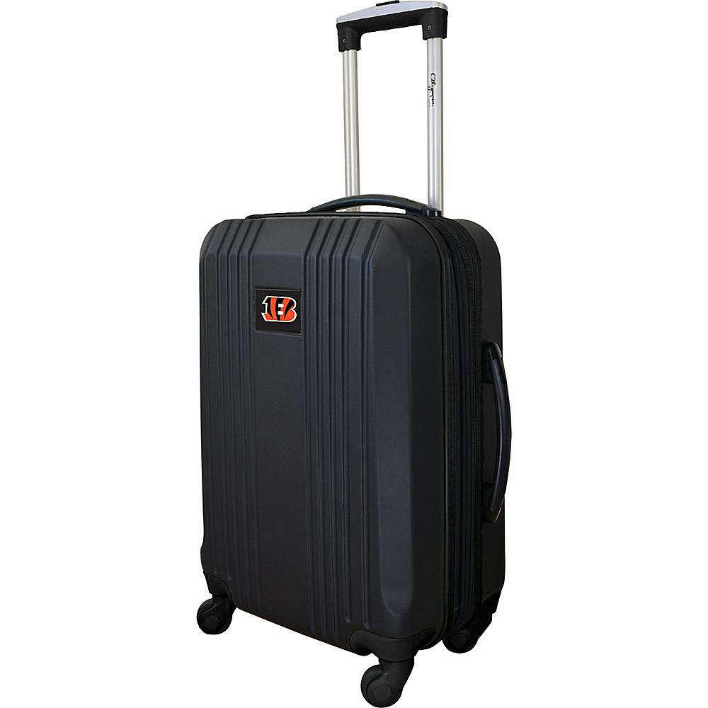 MOJO Denco 21 Carry-On Hardcase 2-Tone Spinner Cincinnati Bengals - MOJO Denco Hardside Carry-On - Luggage, Hardside Carry-On