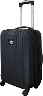 MOJO Denco 21 inch Carry-On Hardcase 2-Tone Spinner Miami Dolphins - MOJO Denco Hardside Carry-On