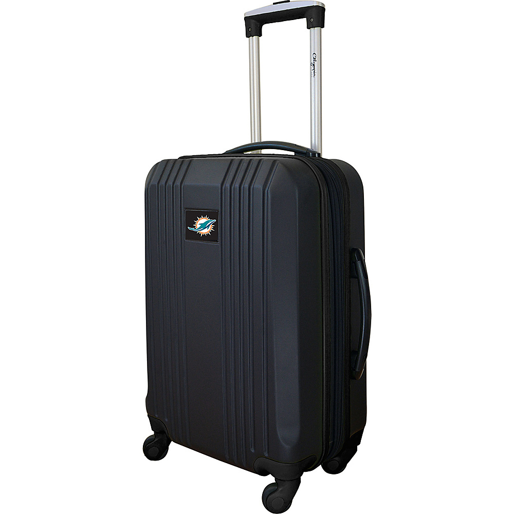 MOJO Denco 21 Carry-On Hardcase 2-Tone Spinner Miami Dolphins - MOJO Denco Hardside Carry-On - Luggage, Hardside Carry-On