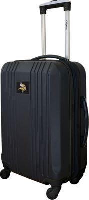 MOJO Denco 21 inch Carry-On Hardcase 2-Tone Spinner Minnesota Vikings - MOJO Denco Hardside Carry-On