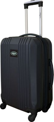 Mojo Licensing Mojo Licensing 21 inch Carry-On Hardcase 2-Tone Spinner New York Jets - Mojo Licensing Hardside Carry-On