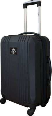 Mojo Licensing 21 inch Carry-On Hardcase 2-Tone Spinner Oakland Raiders - Mojo Licensing Hardside Carry-On