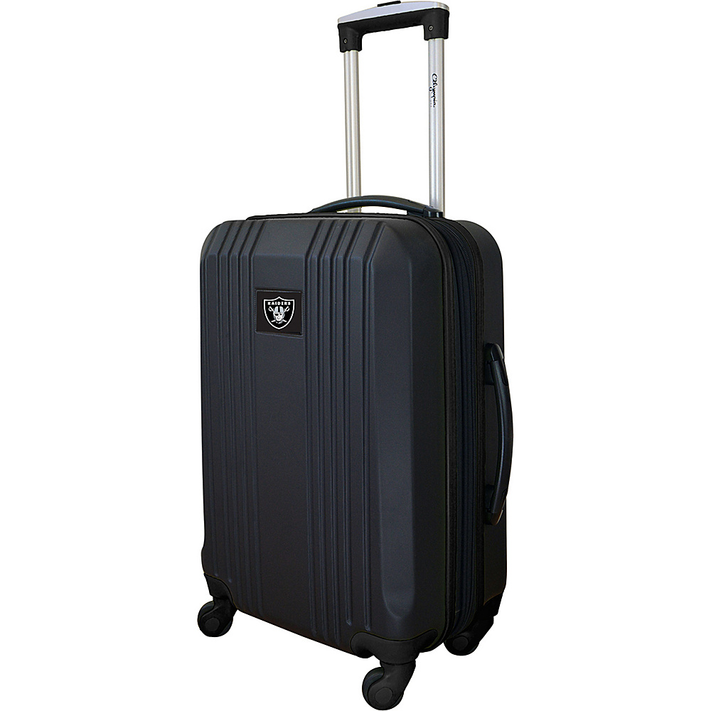 MOJO Denco 21 Carry-On Hardcase 2-Tone Spinner Oakland Raiders - MOJO Denco Hardside Carry-On - Luggage, Hardside Carry-On