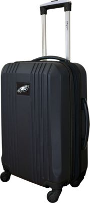 Mojo Licensing Mojo Licensing 21 inch Carry-On Hardcase 2-Tone Spinner Philadelphia Eagles - Mojo Licensing Hardside Carry-On