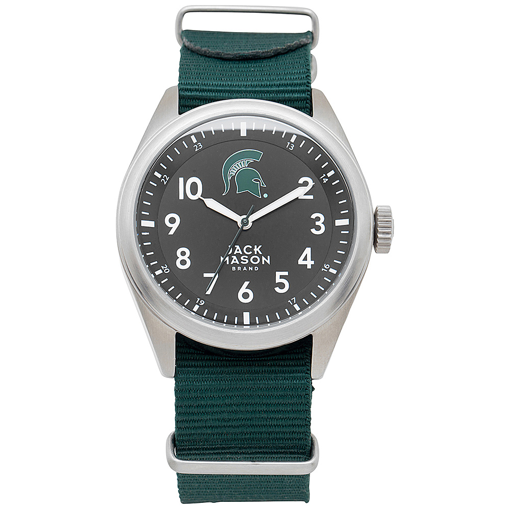 Jack Mason League NCAA Nato Watch Michigan State Spartans - Jack Mason League Watches - Fashion Accessories, Watches