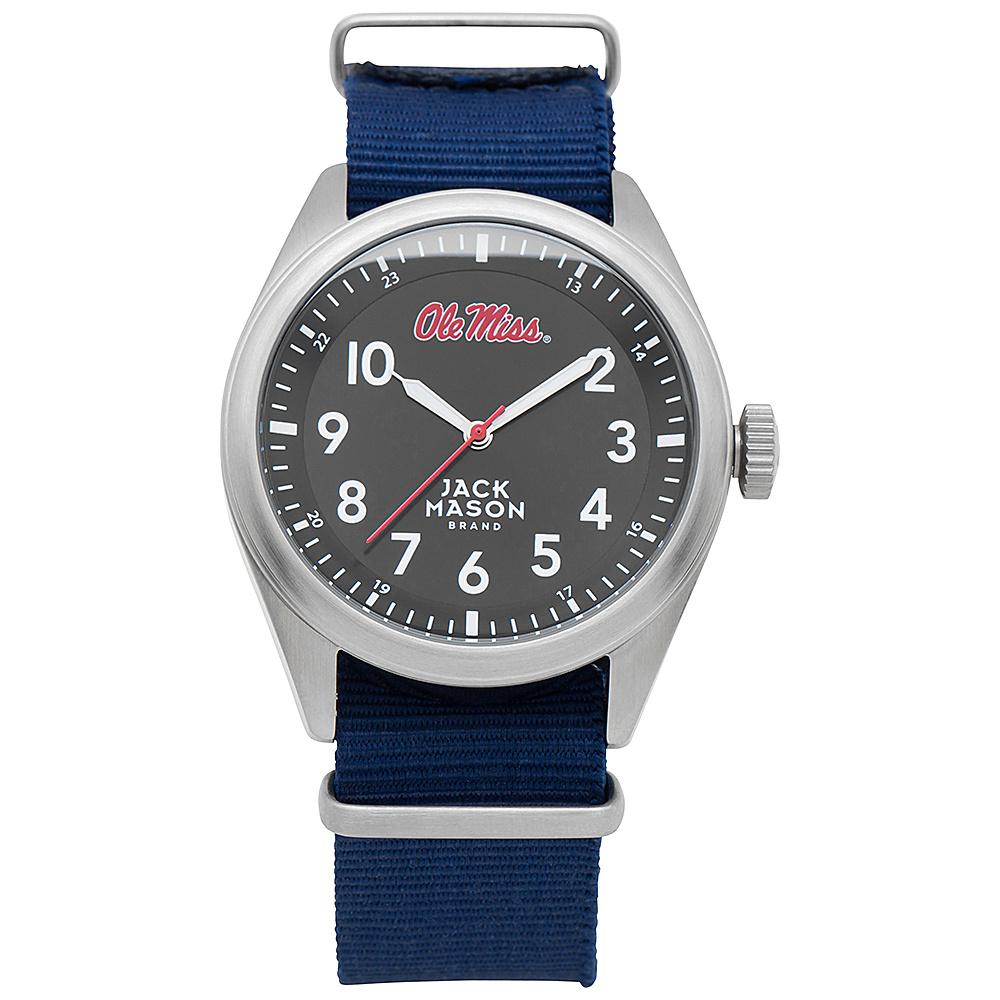 Jack Mason League NCAA Nato Watch Ole Miss Rebels - Jack Mason League Watches - Fashion Accessories, Watches
