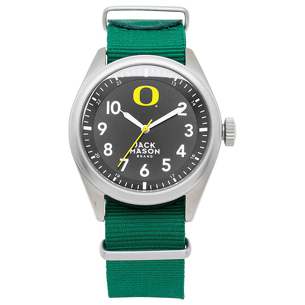 Jack Mason League NCAA Nato Watch Oregon Ducks - Jack Mason League Watches - Fashion Accessories, Watches
