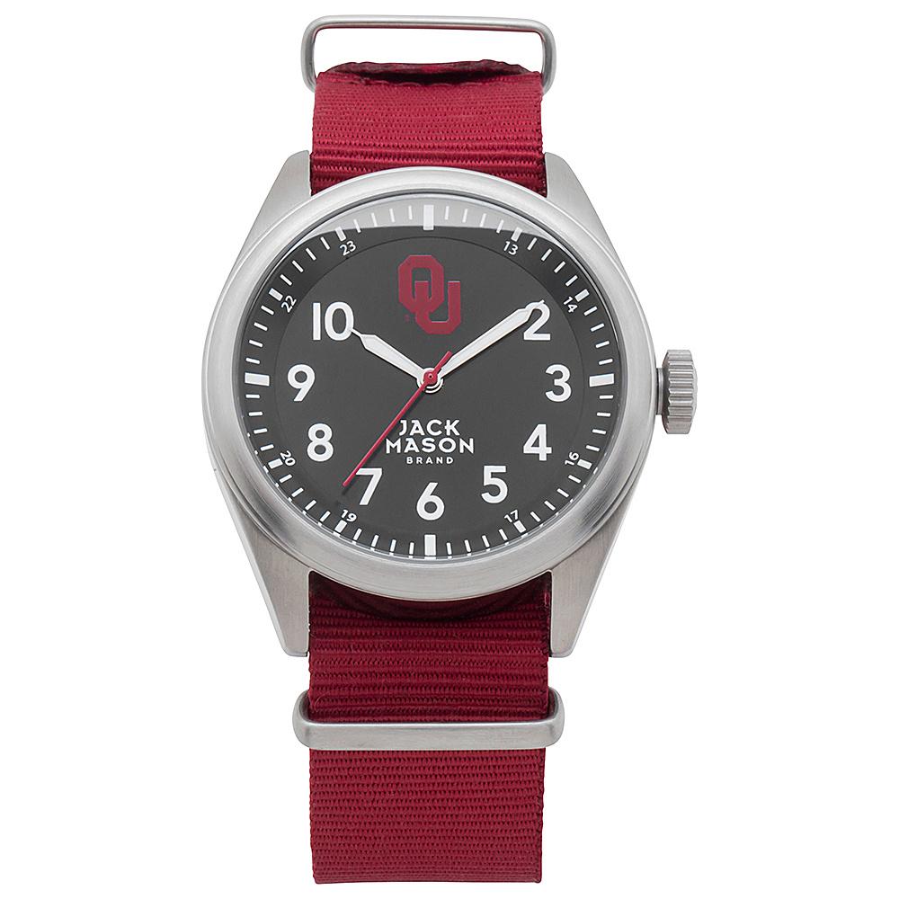 Jack Mason League NCAA Nato Watch Oklahoma Sooners - Jack Mason League Watches - Fashion Accessories, Watches