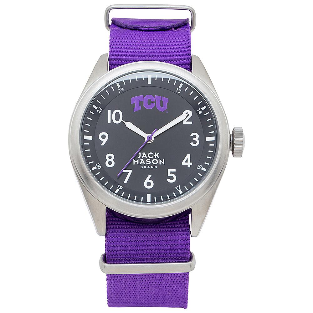 Jack Mason League NCAA Nato Watch TCU Horned Frogs - Jack Mason League Watches - Fashion Accessories, Watches