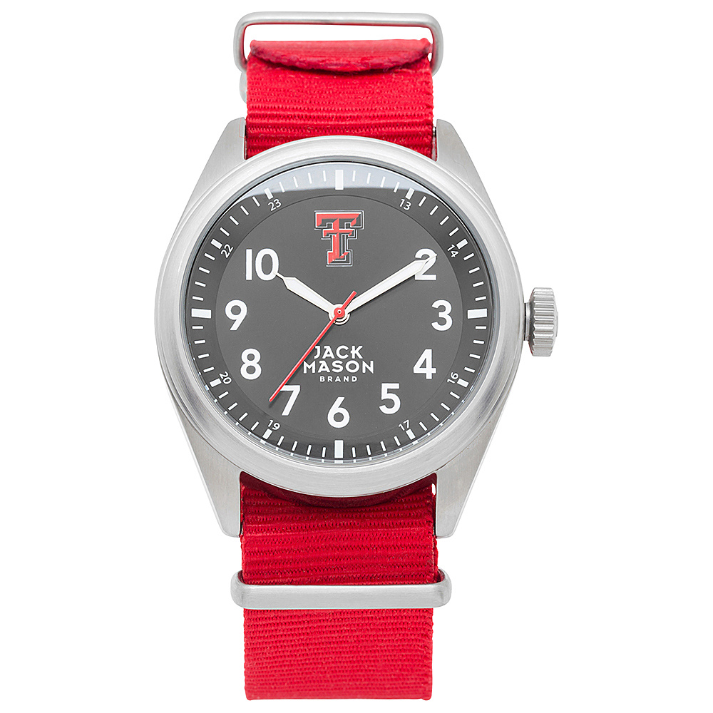 Jack Mason League NCAA Nato Watch Texas Tech Red Raiders - Jack Mason League Watches - Fashion Accessories, Watches